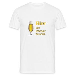 Motive-T-Shirt, Bier-Shirt - Männer T-Shirt