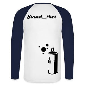 Promodoro Raglan long Stand_Art - T-shirt baseball manches longues Homme