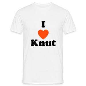 knut white - Mannen T-shirt