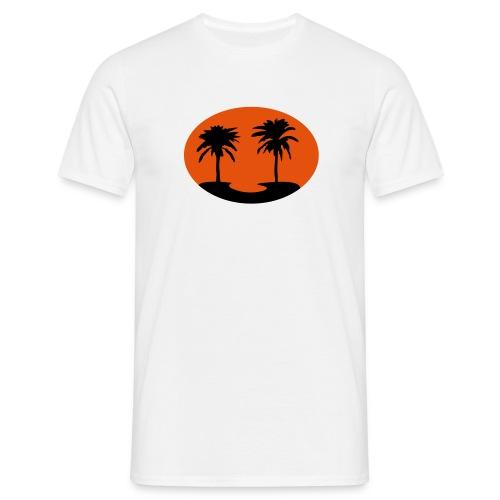Motive-T-Shirt, Palmen-Shirt - Männer T-Shirt