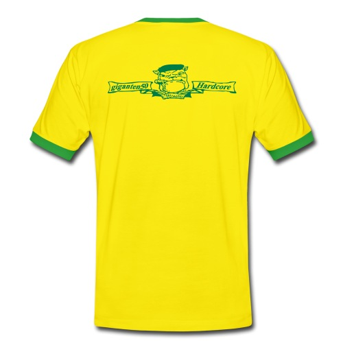 T-Shirt Farbe wählbar - Männer Kontrast-T-Shirt