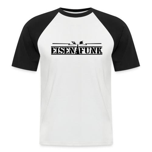 T-Shirt: Eisenfunk - Männer Baseball-T-Shirt