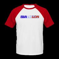 Tee shirts ~ Tee shirt baseball manches courtes Homme ~ Numéro de l'article 4846436