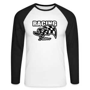 Racing - T-shirt baseball manches longues Homme