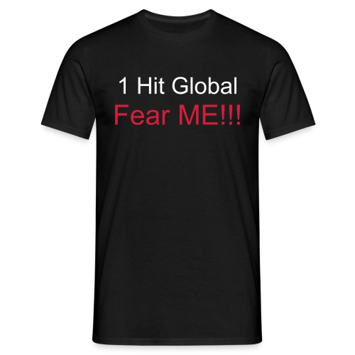 1 hit global - Men's T-Shirt