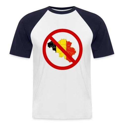 UMB Uniformskjorte - Kortermet baseball skjorte for menn