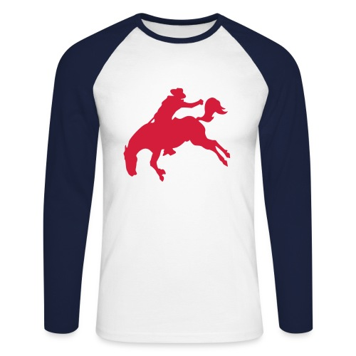 Cowboy - T-shirt baseball manches longues Homme