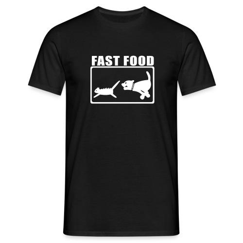 T-Shirt für schnelle Esser - Männer T-Shirt