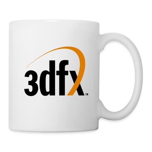 Weiße Tasse mit 3Dfx Logo - Tasse
