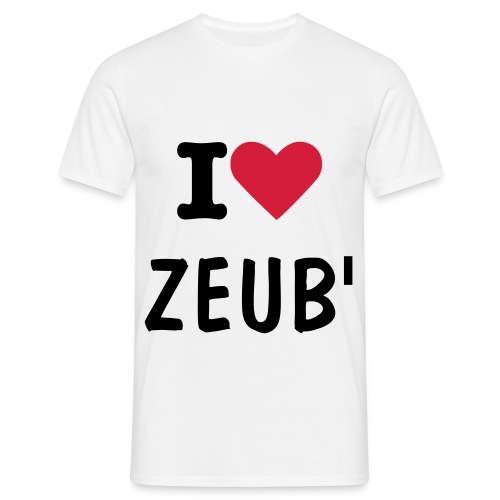 i love zeub' - T-shirt Homme
