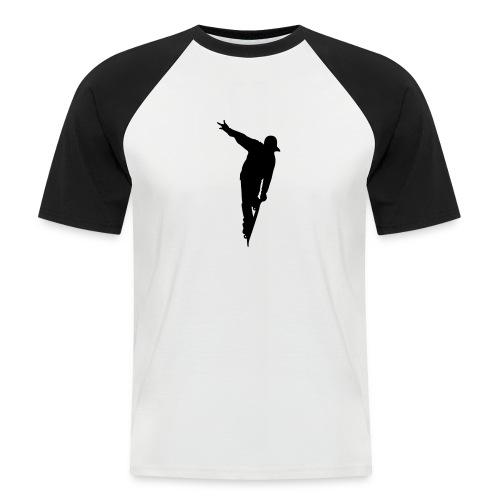 Skateboarding - Mannen baseballshirt korte mouw