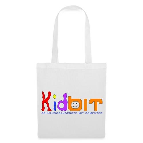 Stofftasche mit Kidbitlogo - Stoffbeutel
