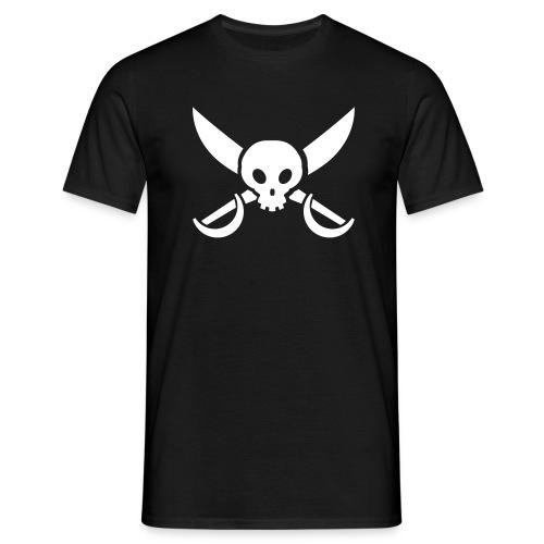 sword_skull - T-shirt herr