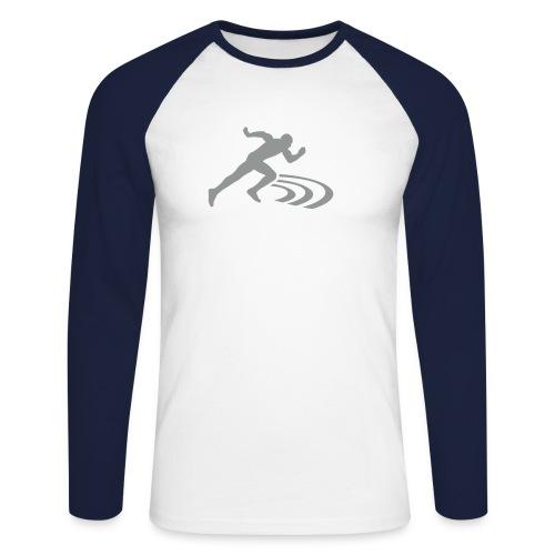 Langarmshirt Track & Field - Männer Baseballshirt langarm