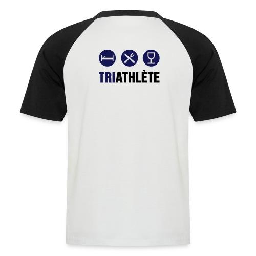 Triathlète - T-shirt baseball manches courtes Homme