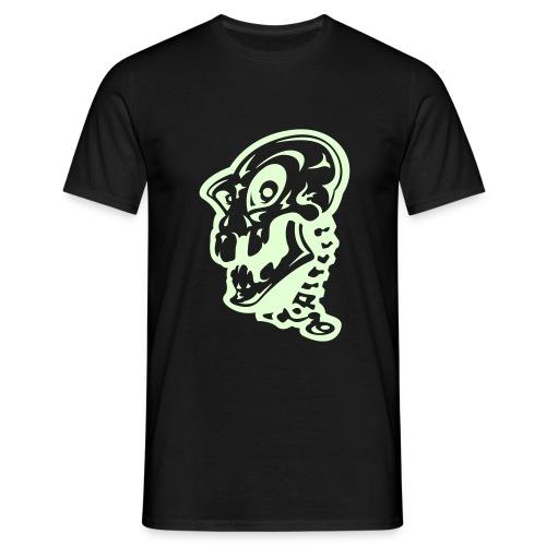Glow in the Dark Zombie - Men's T-Shirt