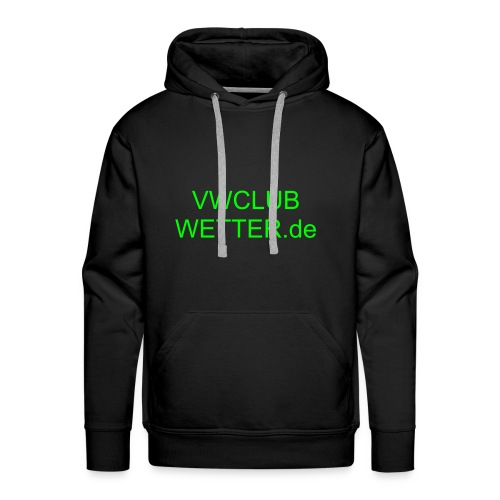 Hooded Shirt VW CLub - Männer Premium Hoodie