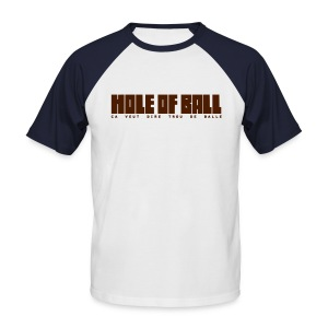 Hole of Ball Camel - T-shirt baseball manches courtes Homme