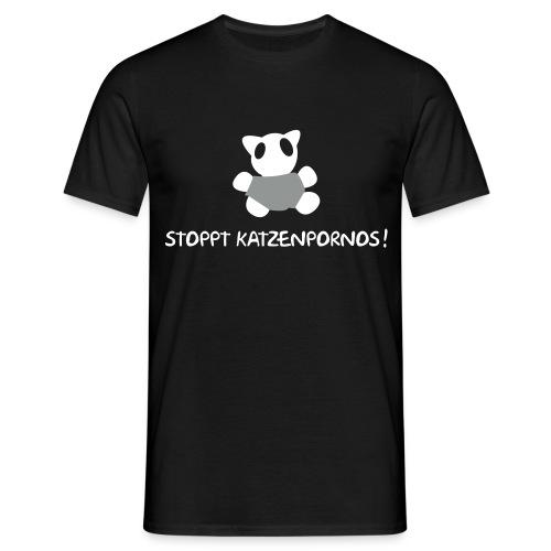 Katzenpornos - Männer T-Shirt