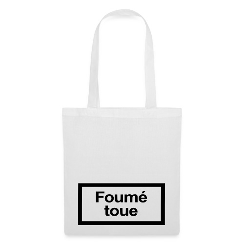 Sac Foumé Toue blanc - Tote Bag
