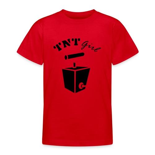 Mädchen T-Shirt - Teenager T-Shirt