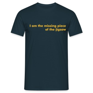 Guys Missing Piece Tee - Men's T-Shirt