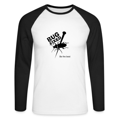 bug fixed - T-shirt baseball manches longues Homme