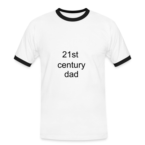 21st Century Dad T-shirt - Men's Ringer Shirt