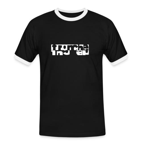 Tronche de Q / Black Tied - T-shirt contrasté Homme