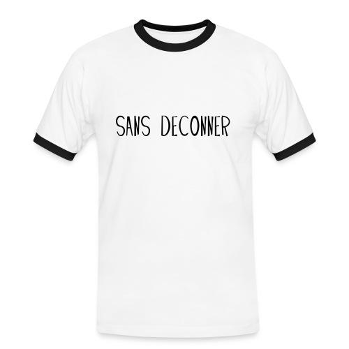 Sans déconner / Std - T-shirt contrasté Homme