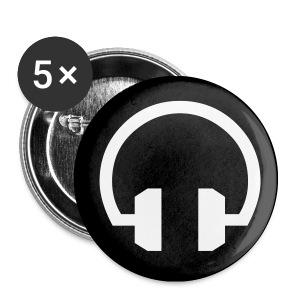 Headphones - Buttons klein 25 mm