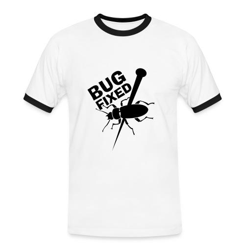 Geek #White - T-shirt contrasté Homme