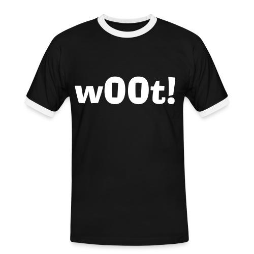 w00t ! - T-shirt contrasté Homme