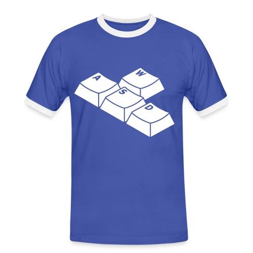 Control Pad - T-shirt contrasté Homme
