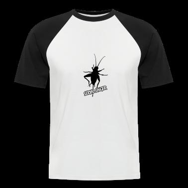 White/black cockroach T-Shirts