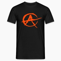 Black Anarchy T-Shirts