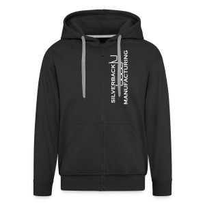 Black Hooded Jacket - Men's Premium Hooded Jacket