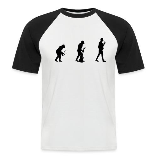 gitarrist s/w - Männer Baseball-T-Shirt