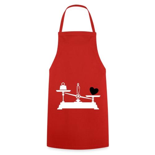 schürtze rot - Kochschürze