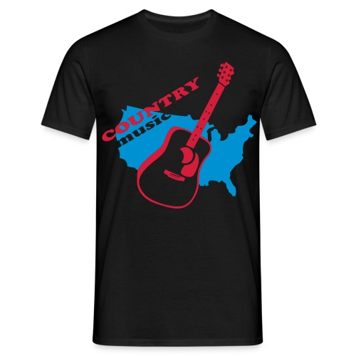Country Music - T-shirt Homme