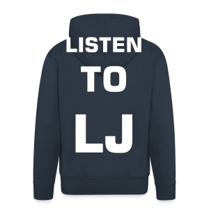 LISTEN 2 THE HOODIE - Men's Premium Hooded Jacket