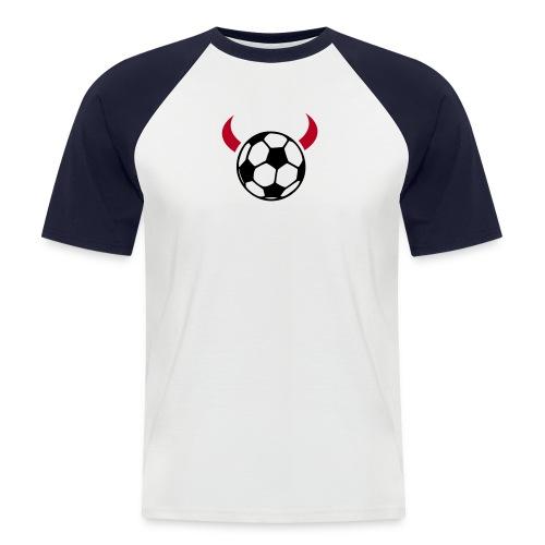 Ich bin de ... T-Shirt - Männer Baseball-T-Shirt
