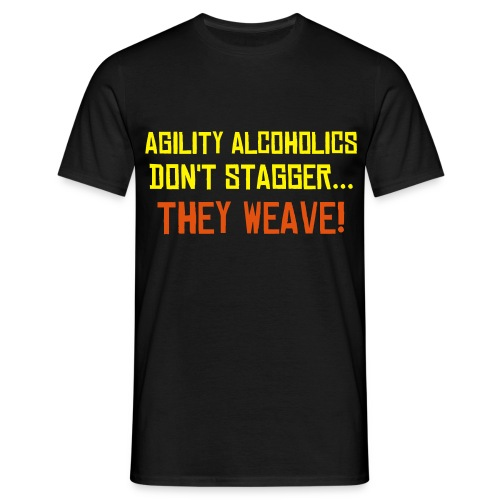 Agility Alcoholics - Tee - Men's T-Shirt