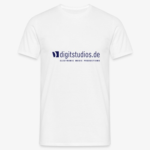 digitstudios.de white/navy - Männer T-Shirt