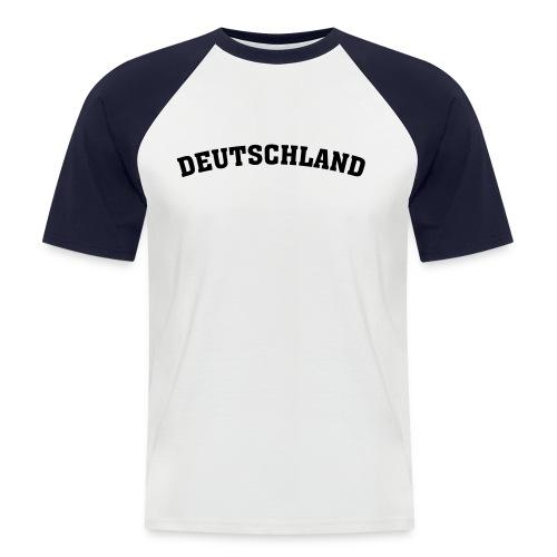 Shirt Deutschland - Männer Baseball-T-Shirt