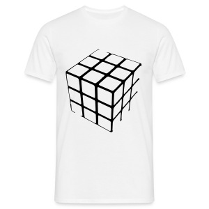 cube half assed - Men's T-Shirt