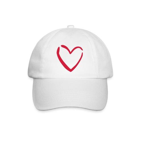 Cap.X (bianco) - Cappello con visiera
