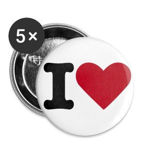 I HEART *Large* - Buttons large 56 mm