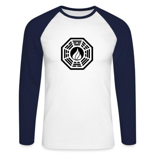 darma - Männer Baseballshirt langarm