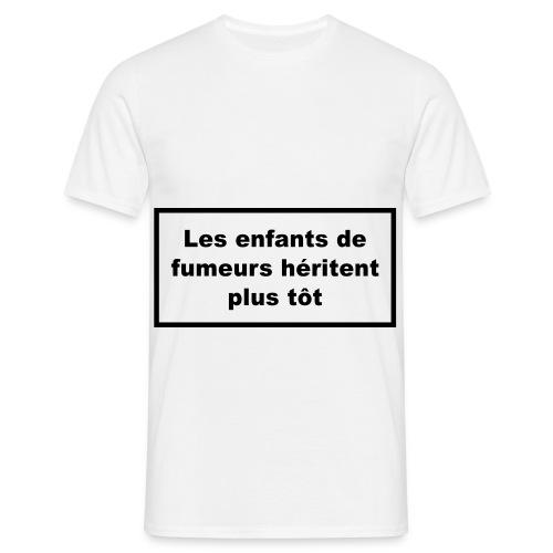 Fumer nuit à la santé - T-shirt Homme